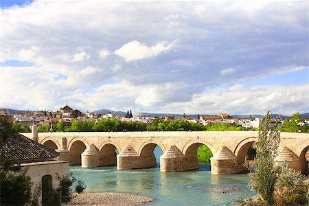 puentes - Great Mosque, Roman Bridge and Guadalquivir river, Cordoba, Spain Stock Photo - Budget Royalty-Free & Subscription, Code: 400-07977443