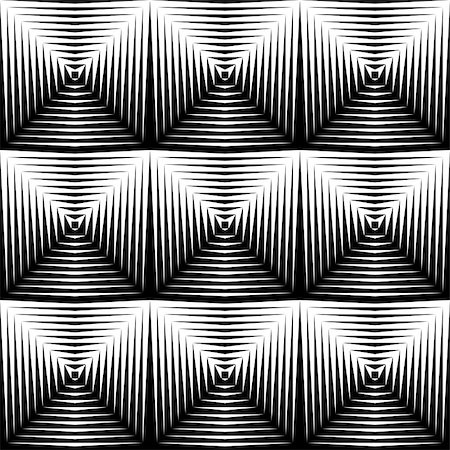 simsearch:400-04476890,k - Design seamless diamond trellised pattern. Abstract geometric monochrome background. Vector art. No gradient Stock Photo - Budget Royalty-Free & Subscription, Code: 400-07990319