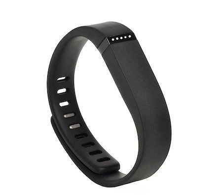 Activity fitness tracker on white background Stock Photo - Budget Royalty-Free & Subscription, Code: 400-08011774