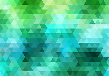 abstract colorful geometric vector background, triangle pattern Stock Photo - Budget Royalty-Free & Subscription, Code: 400-08042566