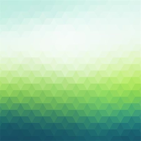 Colorful geometric background with triangles. Blurred mosaic pattern Stock Photo - Budget Royalty-Free & Subscription, Code: 400-08042747