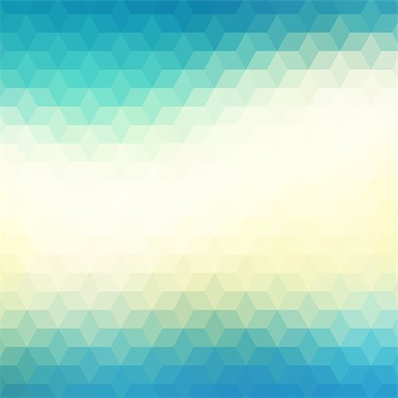 Colorful geometric background with triangles. Blurred mosaic pattern Stock Photo - Budget Royalty-Free & Subscription, Code: 400-08042759