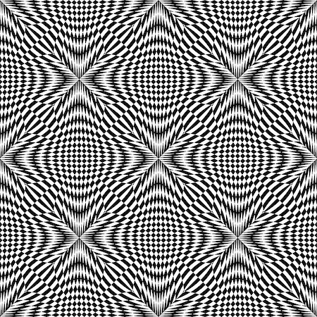 simsearch:400-04476890,k - Design seamless monochrome checkered pattern. Abstract background. Vector art Stock Photo - Budget Royalty-Free & Subscription, Code: 400-08051031