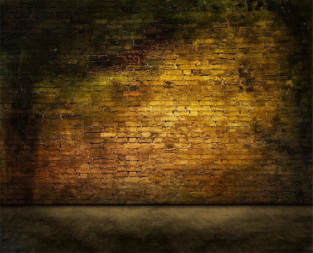 colorful dark brick wall texture with foreground Stock Photo - Budget Royalty-Free & Subscription, Code: 400-08074035