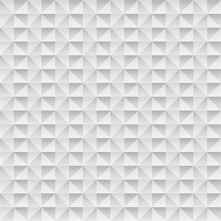 pzromashka (artist) - abstract monochrome vector seamless wallpaper with 3D effect Stock Photo - Budget Royalty-Free & Subscription, Code: 400-08159390