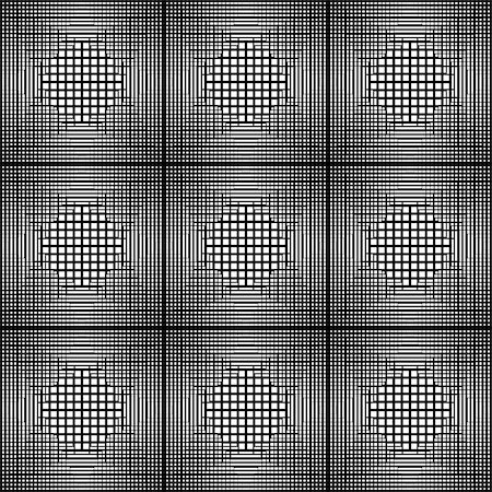 simsearch:400-04476890,k - Design seamless monochrome square geometric pattern. Abstract grid textured background. Vector art. No gradient Stock Photo - Budget Royalty-Free & Subscription, Code: 400-08194423