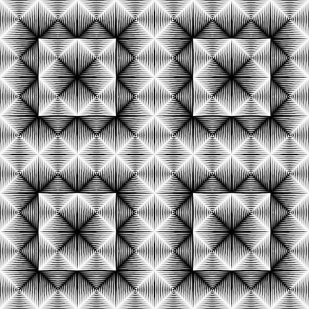 simsearch:400-04476890,k - Design seamless square trellised pattern. Abstract geometric monochrome background. Vector art. No gradient Stock Photo - Budget Royalty-Free & Subscription, Code: 400-08197613
