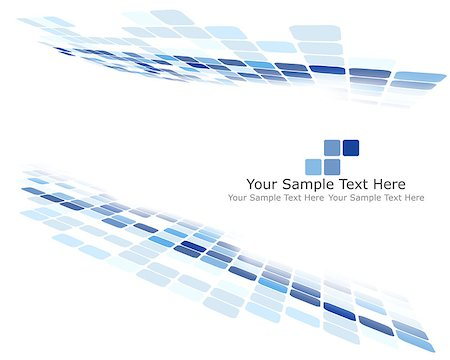 simsearch:400-04476890,k - Checkered Background With Text Space. Ideal Balanced Colors in Blue Tone. Suitable For Creating Business, Technological and Other Designs. Vector Illustration. Stock Photo - Budget Royalty-Free & Subscription, Code: 400-08198946