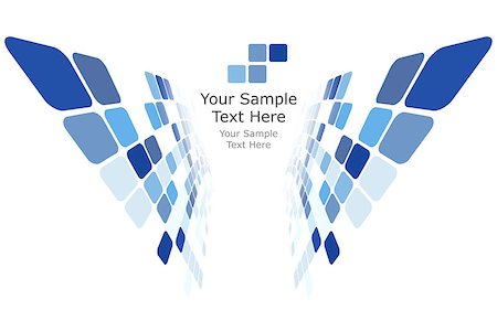 simsearch:400-04476890,k - Checkered Background With Text Space. Ideal Balanced Colors in Blue Tone. Suitable For Creating Business, Technological and Other Designs. Vector Illustration. Stock Photo - Budget Royalty-Free & Subscription, Code: 400-08198948