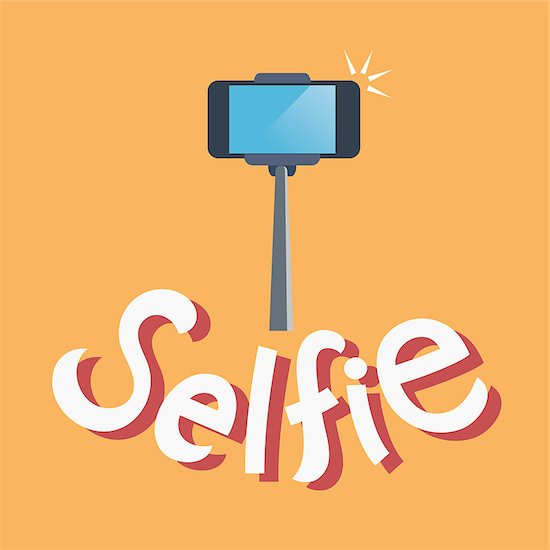 taking selfie photo on smart phone concept Stock Photo - Royalty-Free, Artist: kaisorn, Image code: 400-08294060
