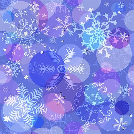 pink and purple fireworks - Seamless colorful christmas pattern with translucent snowflakes and balls, vector eps 10 Stock Photo - Budget Royalty-Free & Subscription, Code: 400-08339024