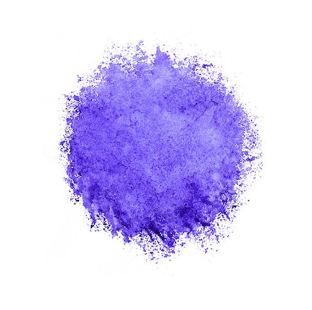 Colorful watercolor circle, violet drop on a white background. Stock Photo - Budget Royalty-Free & Subscription, Code: 400-08333818