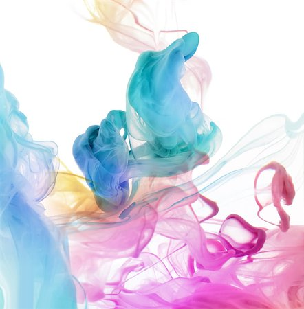 drop painting splash - Acrylic colors in water. Abstract background. Stock Photo - Budget Royalty-Free & Subscription, Code: 400-08400226