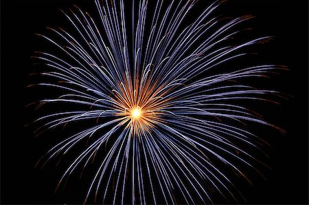 pink and purple fireworks - Blue Single or Double Burst Firework Stock Photo - Budget Royalty-Free & Subscription, Code: 400-08427445