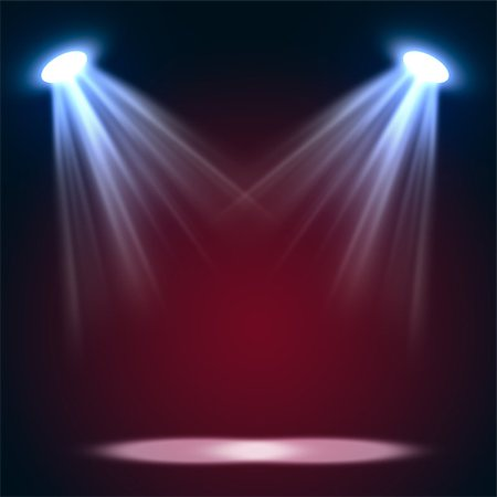 Abstract magic light background. Empty copy space for exhibition Stock Photo - Budget Royalty-Free & Subscription, Code: 400-08622099