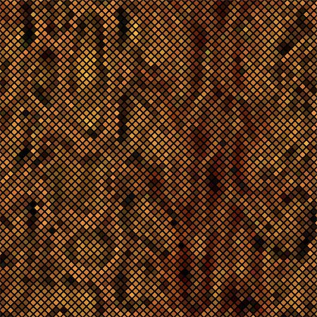 snake skin - Brown mosaic imitating a snake skin. There is an option in the vector. Stock Photo - Budget Royalty-Free & Subscription, Code: 400-08648684