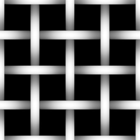 Tone depth wire net  silhouette on black background. Gradient. Tile Stock Photo - Budget Royalty-Free & Subscription, Code: 400-08694677