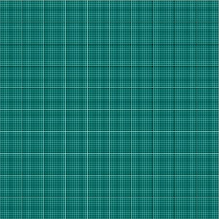Seamless millimeter grid. Graph paper. Vector engineering paper dark green and white color Stock Photo - Budget Royalty-Free & Subscription, Code: 400-08771709