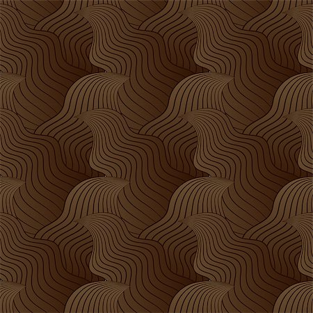 simsearch:400-04638538,k - Color seamless abstract hand-drawn pattern, waves background. Vector illustration.Eps 10. Stock Photo - Budget Royalty-Free & Subscription, Code: 400-08794891