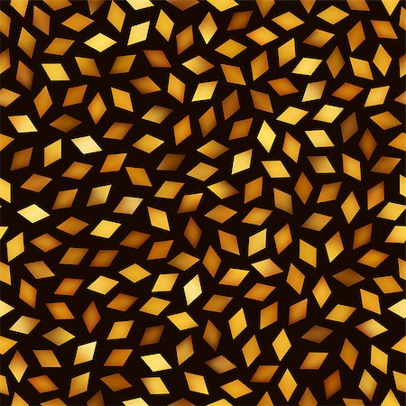 falling confetti with white background - Vector Seamless Multicolor Golden Gradient Rhombus Jumble Pattern. Abstract Geometric Background Design Stock Photo - Budget Royalty-Free & Subscription, Code: 400-08806247