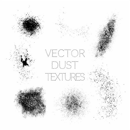 pouring ink vector - Set of Black Paint, Ink, Grunge, Dirty Brush Strokes. Splatter Dust. Vector Illustration Stock Photo - Budget Royalty-Free & Subscription, Code: 400-08954405