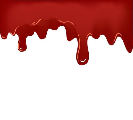 pouring ink vector - Illustration of Flowing Blood on white background . Vector illustration EPS10 Stock Photo - Budget Royalty-Free & Subscription, Code: 400-08981436