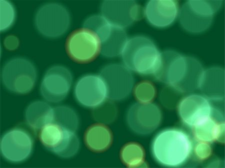 white and green lights over dark green background Stock Photo - Budget Royalty-Free & Subscription, Code: 400-03916847