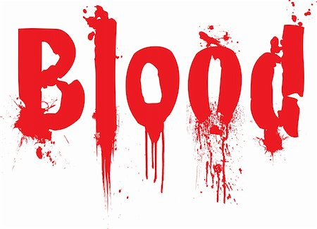 dripping blood backgrounds - Blood text illustration with dibbles of blood running down the text Stock Photo - Budget Royalty-Free & Subscription, Code: 400-03919905