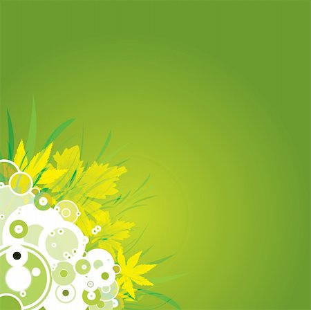 An abstract nature background in green and yellow Stock Photo - Budget Royalty-Free & Subscription, Code: 400-03910013