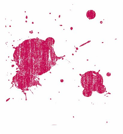spilling blood texture - Grunge Splat  -  Background is transparent so they can be overlayed on other Illustrations or Images. Stock Photo - Budget Royalty-Free & Subscription, Code: 400-03937227