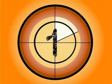 pokerman (artist) - Orange and Red Circle Countdown at No 1 - (Vector Format) Stock Photo - Budget Royalty-Free & Subscription, Code: 400-03939124