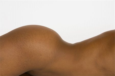 African American female posing nude Stock Photo - Budget Royalty-Free & Subscription, Code: 400-03930449