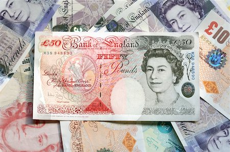 UK currency notes suitable for use as background Stock Photo - Budget Royalty-Free & Subscription, Code: 400-03931868