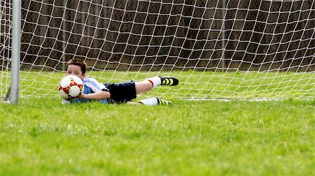 Soccer practice Stock Photo - Budget Royalty-Free & Subscription, Code: 400-03944033