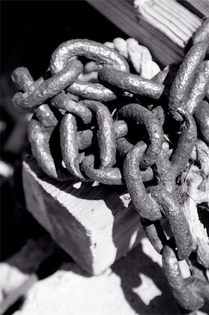 spot (dirt mark) - Old rusty metal chain close up , shallow DOF photo Stock Photo - Budget Royalty-Free & Subscription, Code: 400-03948004