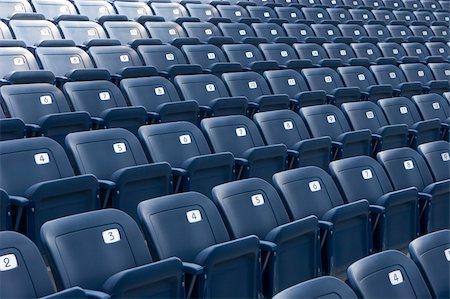 slidezero - empty stadium seats Stock Photo - Budget Royalty-Free & Subscription, Code: 400-03956030