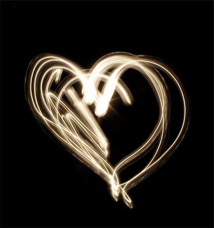 light is moving the dark - abstract heart Stock Photo - Budget Royalty-Free & Subscription, Code: 400-03956704