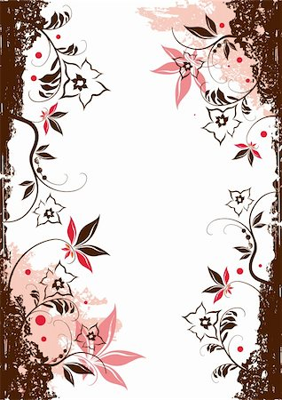 simsearch:400-03931671,k - Floral Vector Elements Stock Photo - Budget Royalty-Free & Subscription, Code: 400-03951809