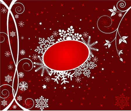 pretty backgrounds draw - Christmas abstract Background - vector Stock Photo - Budget Royalty-Free & Subscription, Code: 400-03964476