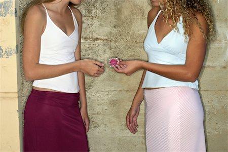 Women with condom Stock Photo - Premium Royalty-Free, Code: 604-00229585