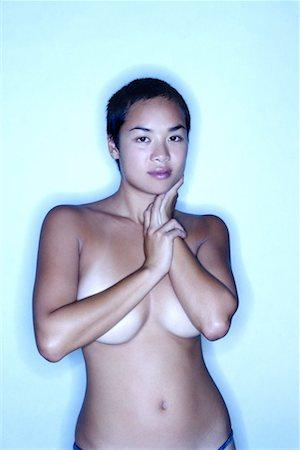 Nude woman Stock Photo - Premium Royalty-Free, Code: 604-00232694
