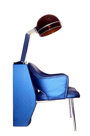 retro beauty salon images - Salon hair dryer and chair Stock Photo - Premium Royalty-Free, Code: 604-00278332