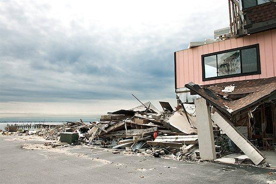Hurricane damage Stock Photo - Premium Royalty-Free, Image code: 604-00760958