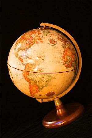 Globe Stock Photo - Premium Royalty-Free, Code: 604-00942557
