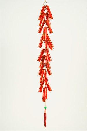 Chinese firecrackers Stock Photo - Premium Royalty-Free, Code: 604-01878532