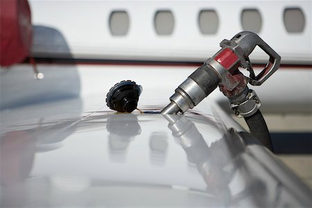 Close-up of jet fuel pump Stock Photo - Premium Royalty-Free, Code: 604-02063323