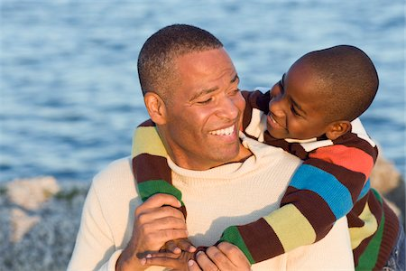 Portrait of Father and Son Stock Photo - Premium Royalty-Free, Code: 600-04625307