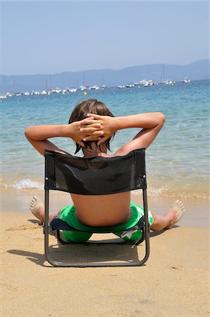 Boy at the Beach, Corsica, France Stock Photo - Premium Royalty-Free, Code: 600-05181852
