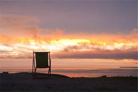 Chair on Beach, Camaret-sur-Mer, Finistere, Bretagne, France Stock Photo - Premium Royalty-Free, Code: 600-05389148
