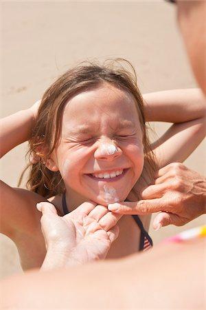 Girl on Beach, Camaret-sur-Mer, Finistere, Bretagne, France Stock Photo - Premium Royalty-Free, Code: 600-05389211